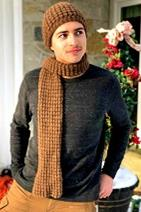 Download Drop Stitch Hat and Scarf