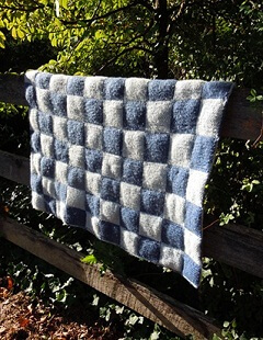 Download Quilted Double Knit Afghan