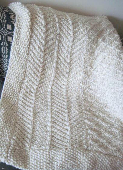 Download Rachel's Paneled Afghan