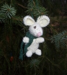 Download Pip the Mouse Christmas Ornament