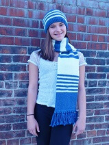 Download Team Colors Scarf & Hat