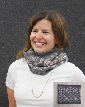 Pattern of the Month - Moonlight and Roses Cowl