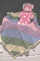 Download Diagonal Granny Squares Baby Afghan