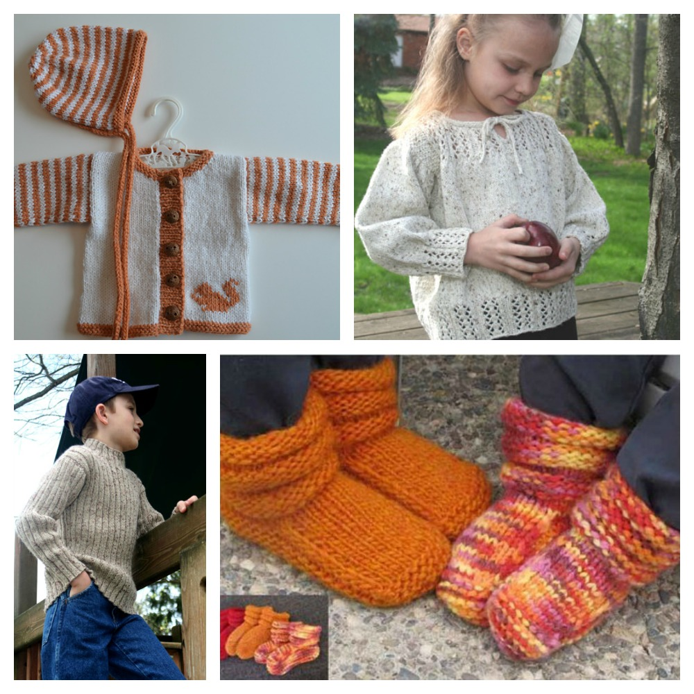 Knitting patterns for children